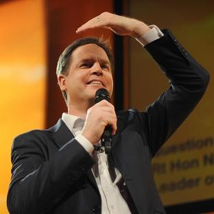 Nick Clegg has urged Liberal Democrats to attack the Tories as he attempted to draw a line under damaging scandals
