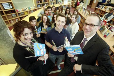 Jewish Community Secondary School pupils will be selling their book Flying Away with Languages at Brent Cross on Sunday