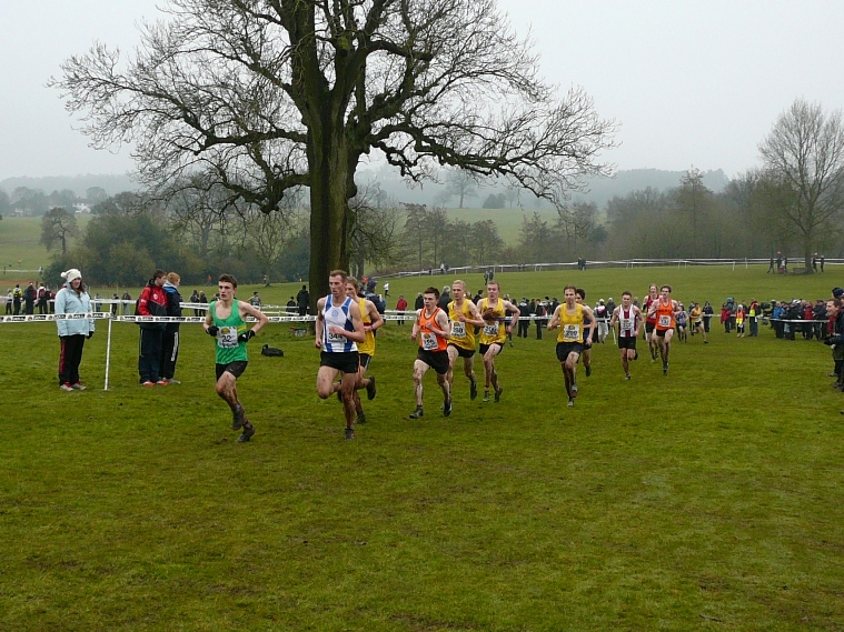 Michael Callegari finished fifth in the Under-20 men's race