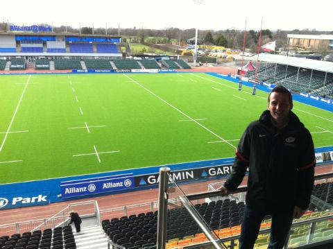 Stadium director Gordon Banks says Saracens is looking to repay the Barnet community with its expanding outreach programme