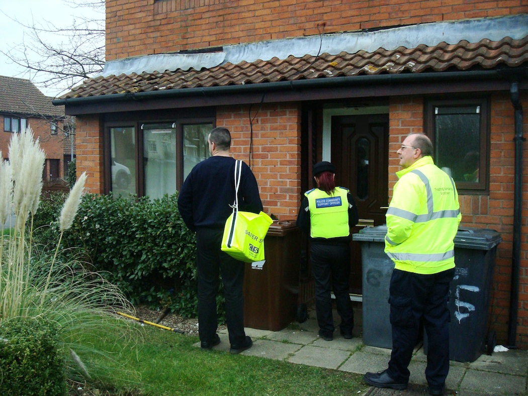 Safer Streets team visited 66 homes in The Drive, Potters Bar, completing 23 questionnaires, fitting several smoke alarms and making ten home fire safety referrals.