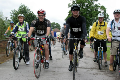 Hospice encourages cyclists to pedal for cash