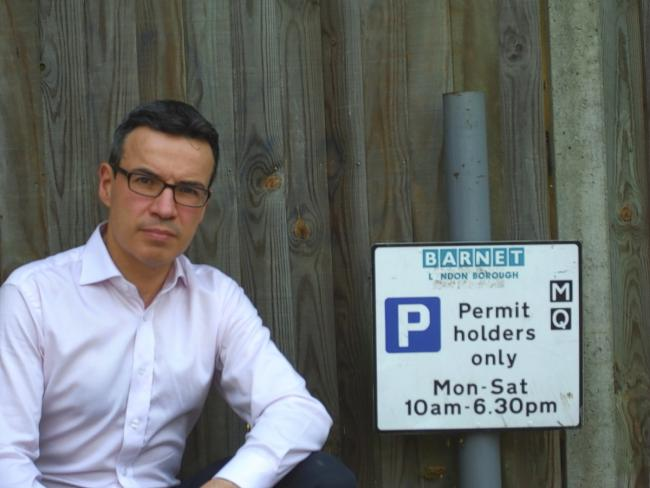 David Attfield won a High Court challenge over Barnet Borough Council's use of money from raising parking charges