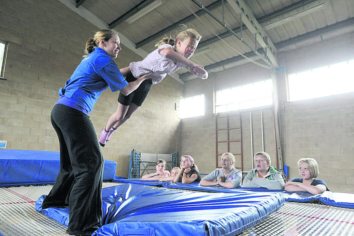 New trampolining classes
