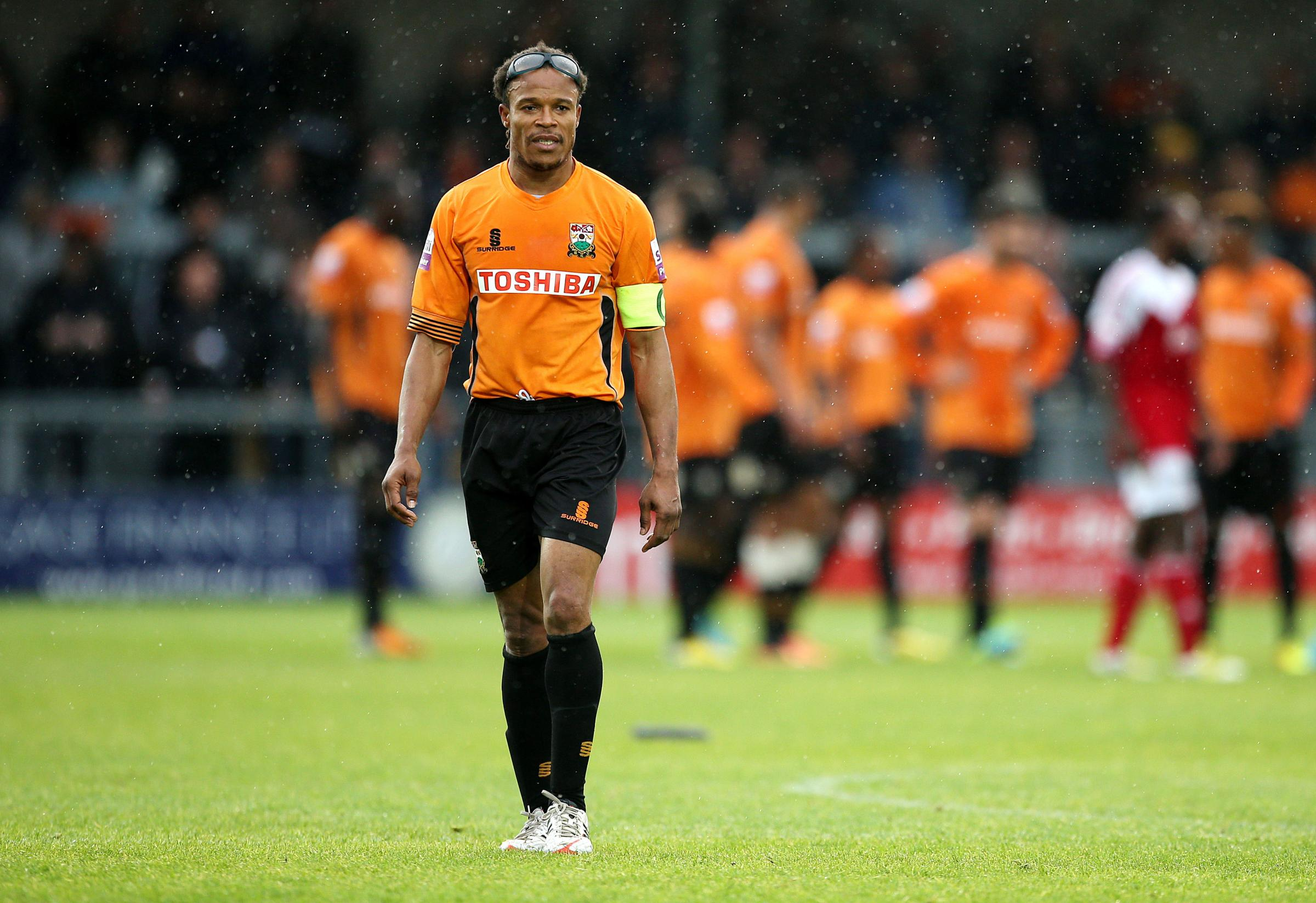 Edgar Davids has left Barnet by mutual consent. Picture: Action Images
