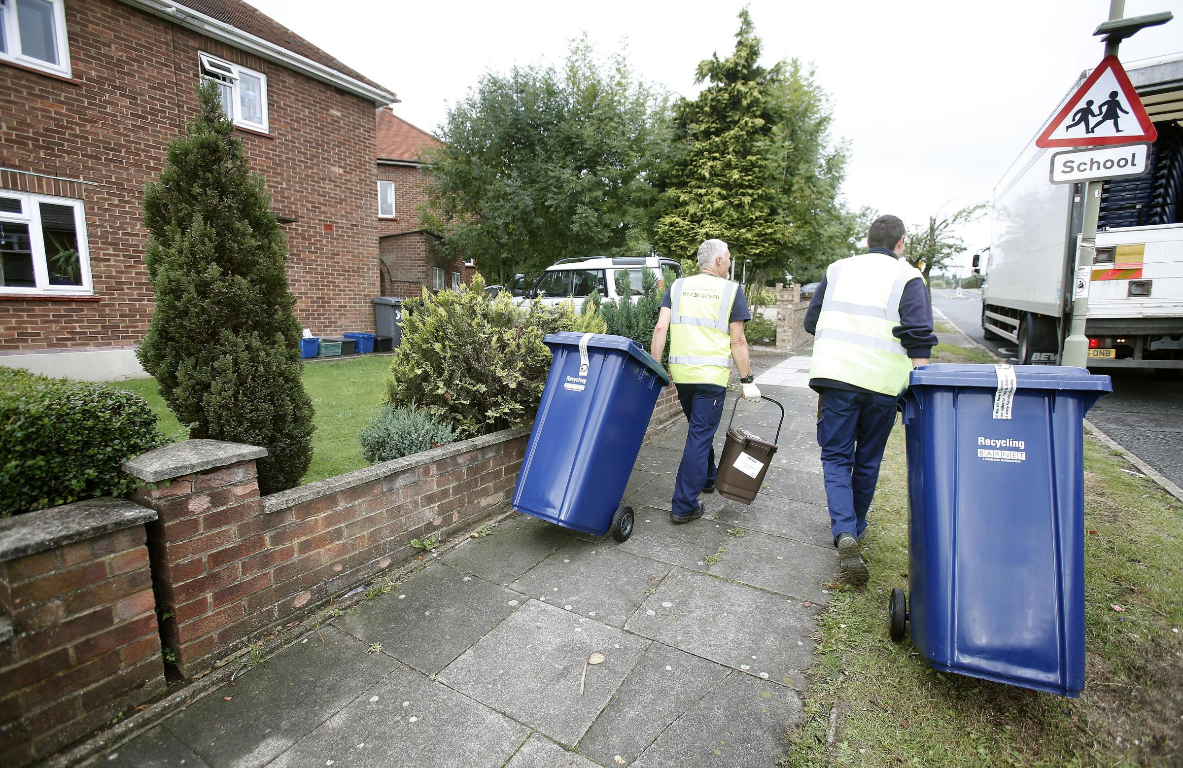 Figures show 81 per cent happy with new recyling service