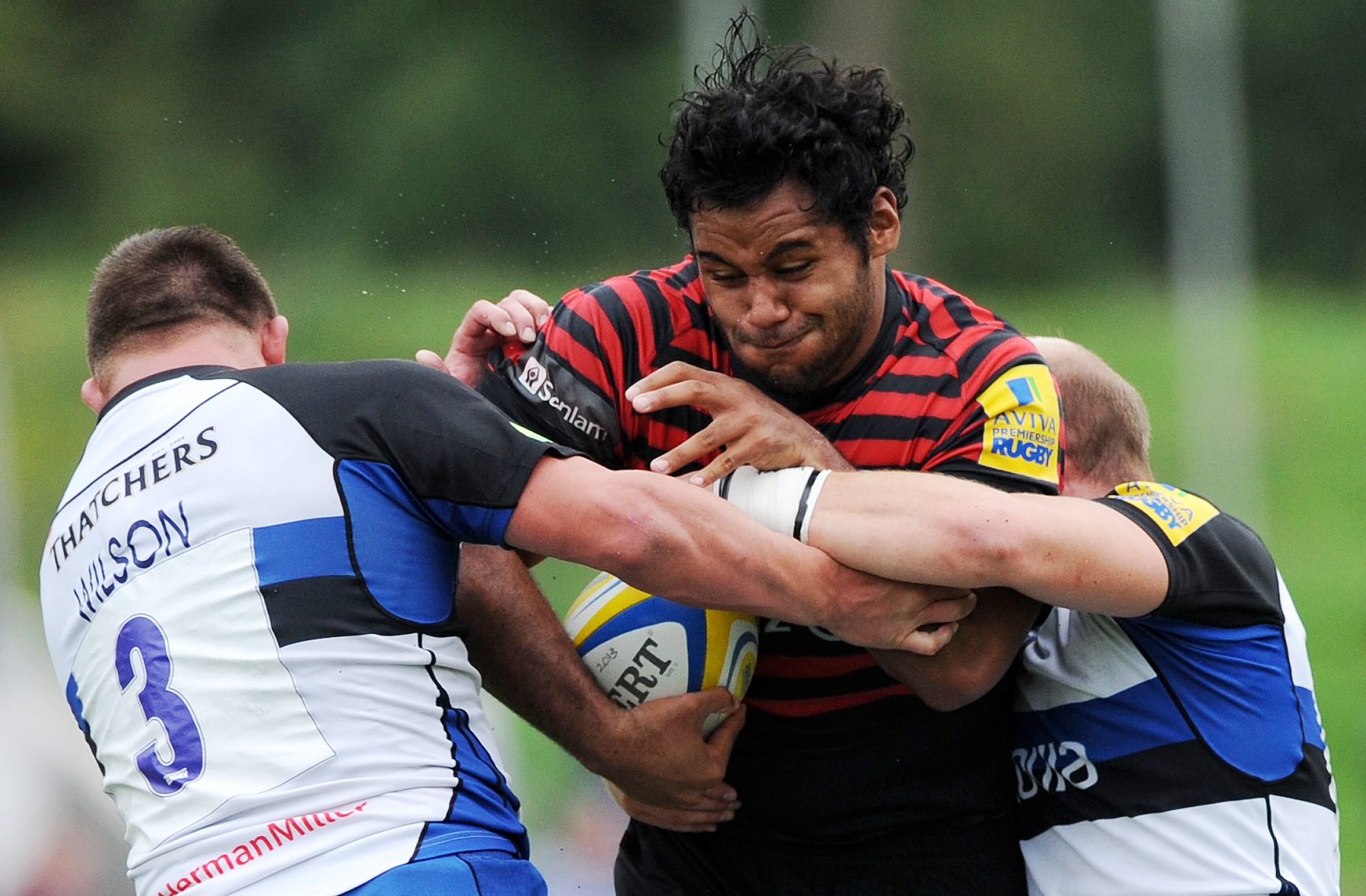 England international Billy Vunipola returned to action against Ulster last weekend. Picture: Action Images