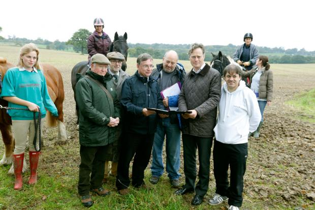 Campaigners launched a petition to save Bury Farm from development