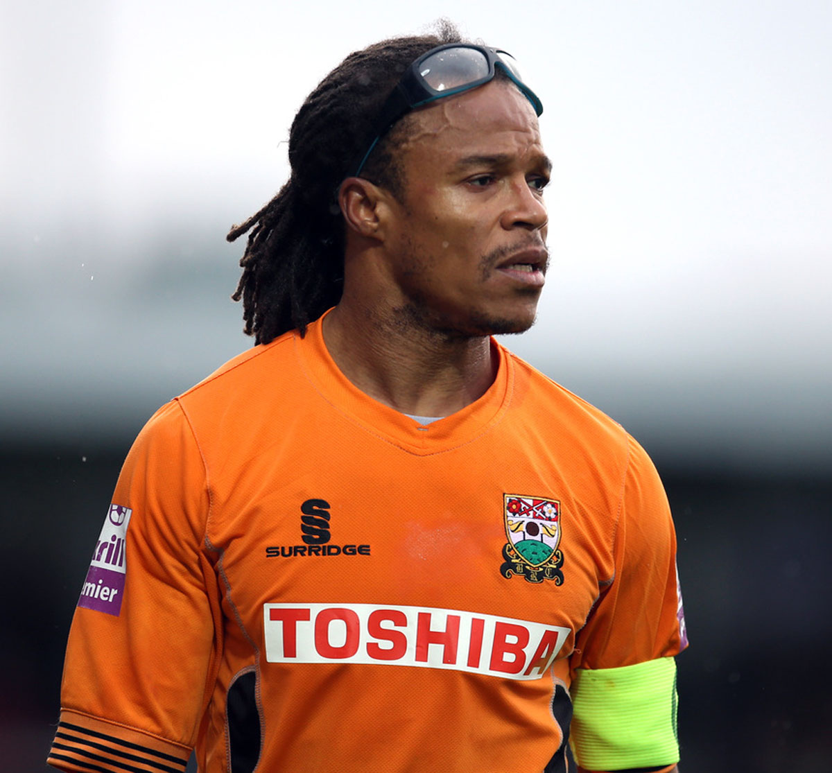 Edgar Davids made just nine appearances for the Bees last term. Picture: Action Images