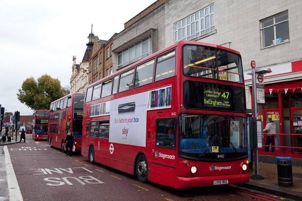 Times Series: London buses will no longer accept cash fares from Sunday, July 6
