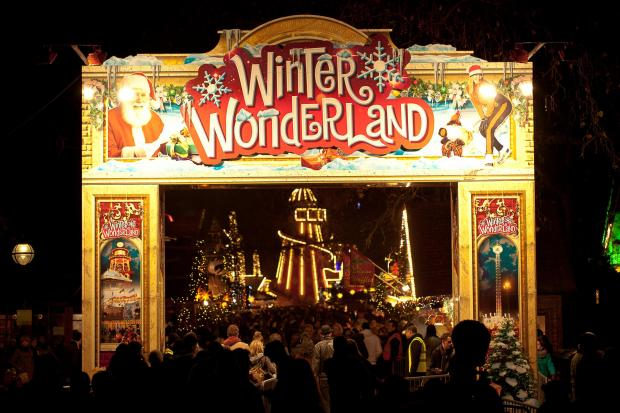 Times Series: The Winter Wonderland at Hyde Park