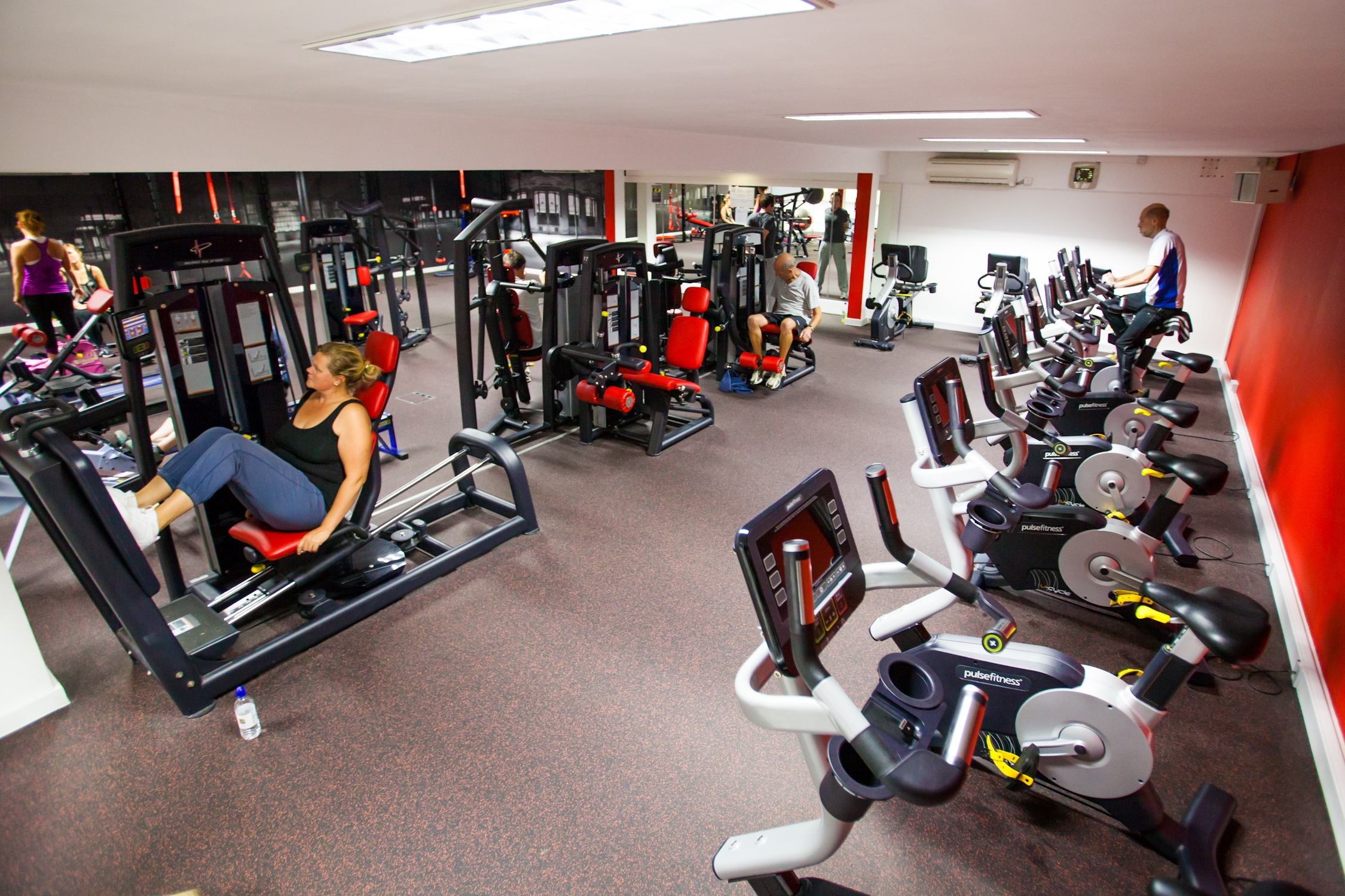 Barnet's gyms have reported an influx of users keen to shake off their Christmas excesses