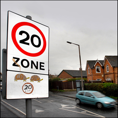 Council cuts 20mph limit red tape
