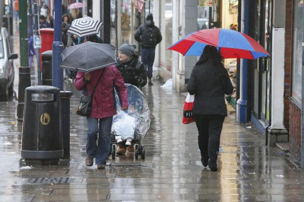 Wild weather set to continue across London