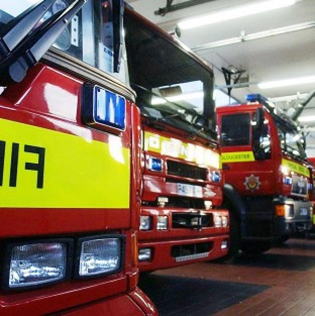 Times Series: Firefighters were called to a canal boat where a man and his dog were found dead