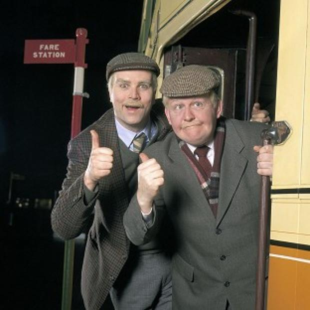 Times Series: Ford Kiernan, right, with comedy co-star Greg Hemphill in BBC Scotland's Still Game.