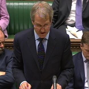 Times Series: Environment Secretary Owen Paterson has been answering questions from MPs on the recent floods