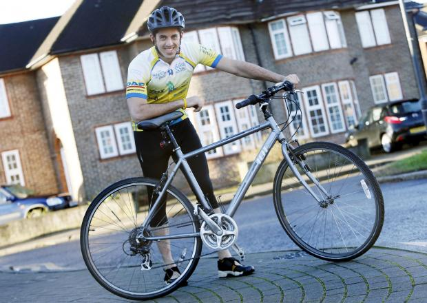 Times Series: Joey Kolirin cycled across Israel to raise money for Ayln hospital