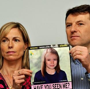 Times Series: Madeleine McCann's parents Gerry and Kate have welcomed news that UK prosecutors have written to the Portuguese authorities seeking help with the inquiry into the disappearance of their daughter