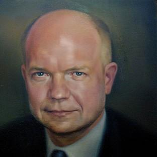 William Hague's portrait cost �4,000 to commiss
