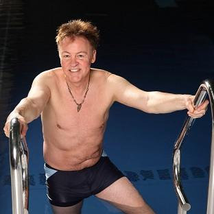 Paul Young has admitted to feeling concious about his body prior to his appearance on