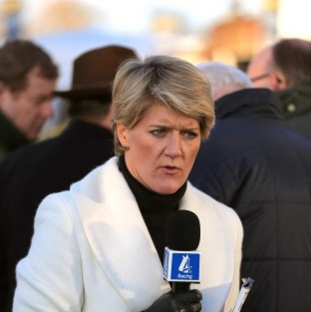 Times Series: Presenter Clare Balding was among the guests at Nick Clegg's official residence