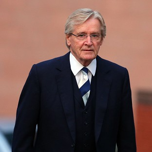 Coronation Street actor William Roache arriving at Preston Crown Court