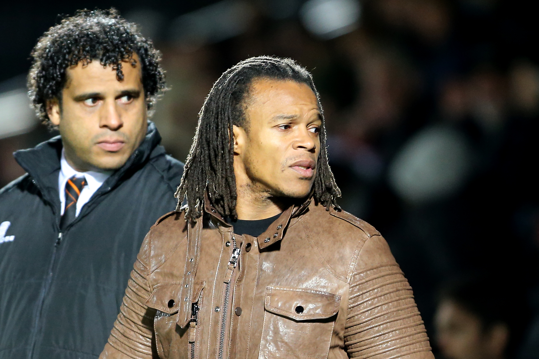 Ulrich Landvreugd and Edgar Davids. Picture: Dave Peters