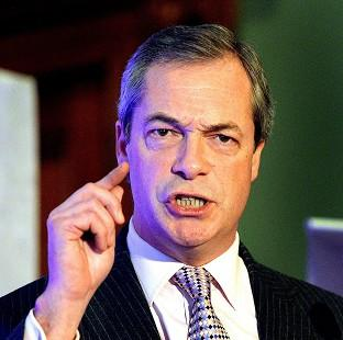 Times Series: Ukip leader Nigel Farage says the party has attracted the wrong sort of people