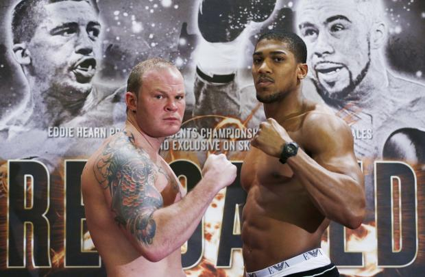 Times Series: Anthony Joshua and Dorian Darch