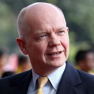William Hague said there was a 'compelling' case for a fresh UN security council look at the humanitarian issue in Syria after the 'barrel bomb' attack on Aleppo