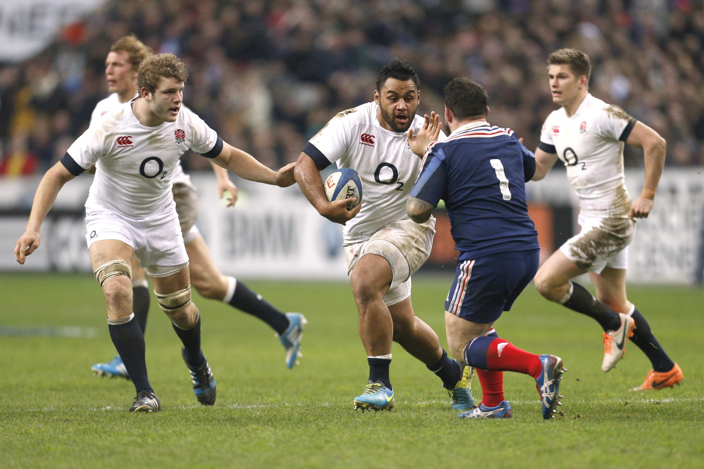 Both Billy Vunipola and Owen Farrell have retained their England places. Picture: Action Images
