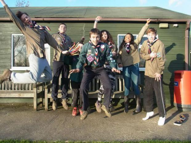 Eight Scouts from the borough joined the first step towards the 23rd World Scout Jamboree 2015 during a team-building weekend