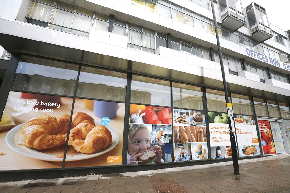Sainsbury's is opening one of its 'Local' stores in Regents Park Road later this month