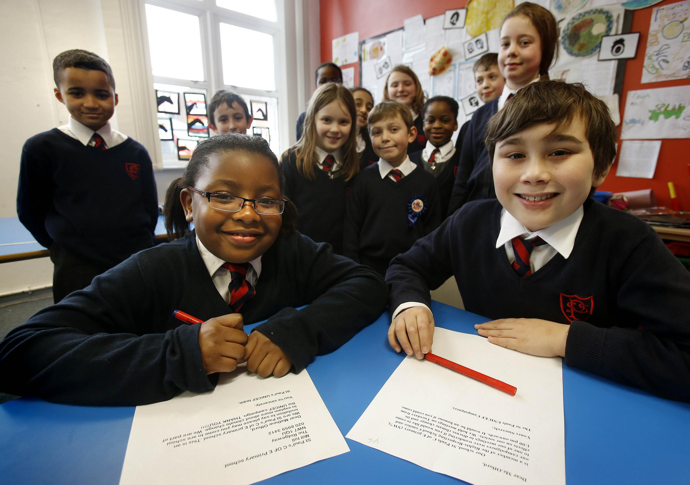 Climate change hot topic for school children