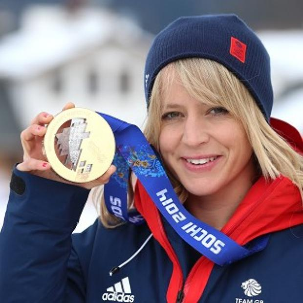 Times Series: Jenny Jones with her bronze medal