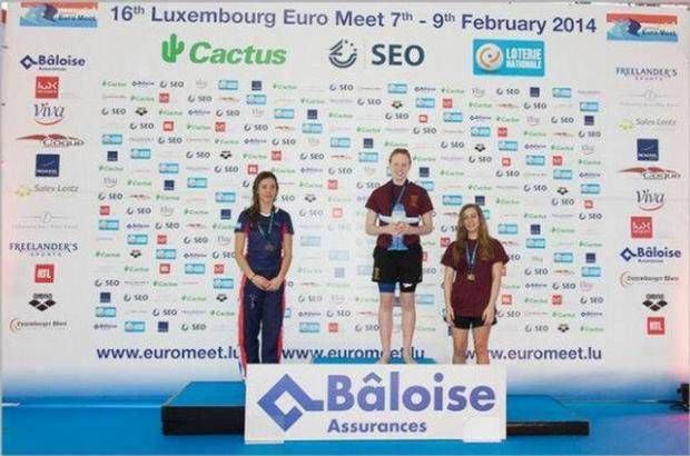 Barnet Copthall swimmers impress in Luxembourg