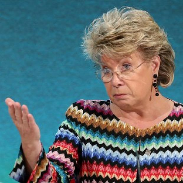 "Times Series: Viviane Reding said the ""distorted"" debate about the UK's future in the European Union was distracting from vital reforms and damaging economies"