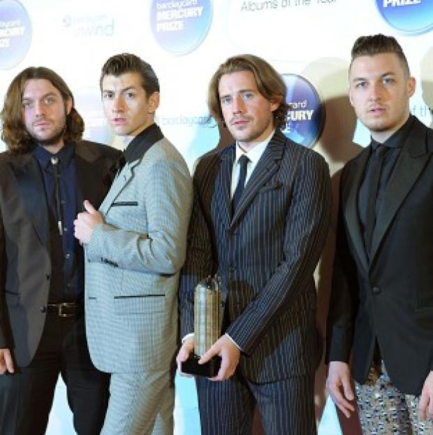 Times Series: The Arctic Monkeys were the most streamed artists of the past year