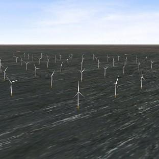 London Array's wind farm is the biggest of its kind in the world (PA/London Array)