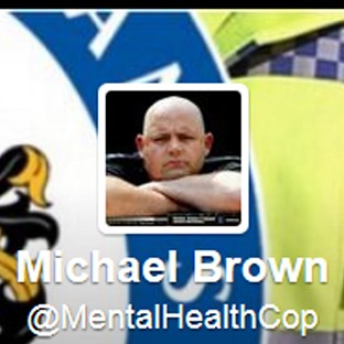 Twitter feed of Michael Brown @MentalHealthCop has been reinstated after an internal inquiry by his force.