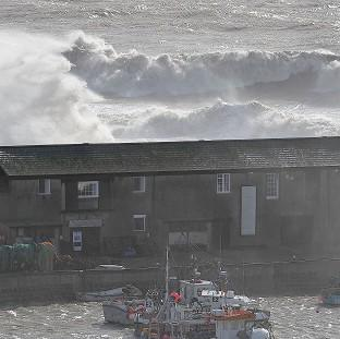 Times Series: Coasts and seaside communities are at risk from the changing climate, says the National Trust