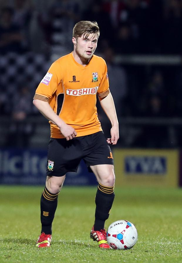 Times Series: Elliot Johnson returns to the Barnet starting XI. Picture: Dave Peters