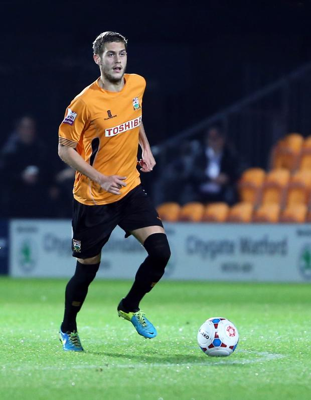 Times Series: Jack Saville could return to the Barnet squad for tonight's match. Picture: Dave Peters