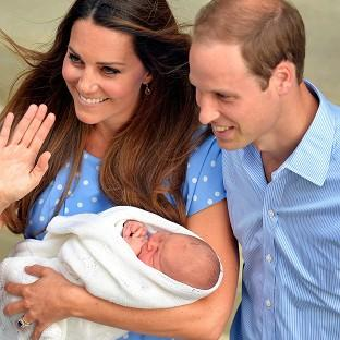 Times Series: A nanny, who has not been named, will accompany William and Kate on their visit to New Zealand and Australia in April.