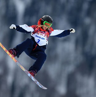 Jenny Jones won a bronze medal in Sochi.
