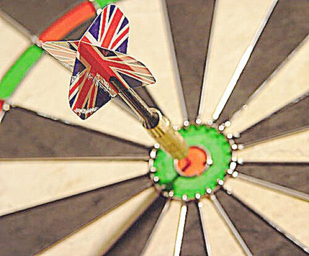 Times Series: DARTS: Barnet Arrows only able to draw against Potters Bar Wanderers