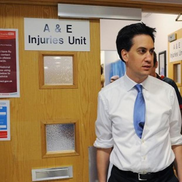 Times Series: Ed Miliband said Labour's health plan would give NHS patients a greater say on their care