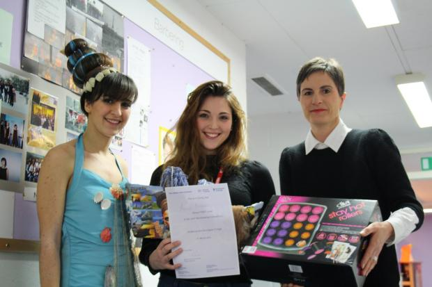 Hairdressing students from Barnet and Southgate College went global in a styling competition