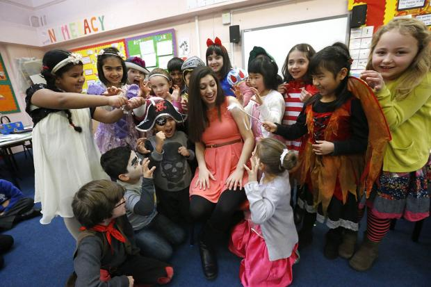 The pupils stepped into character for World Book Day